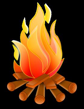 Campfire Vector PNG