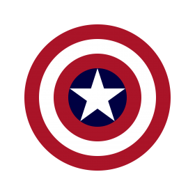 Captin America Shield PNG