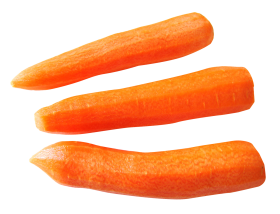 Carrot Sliced PNG