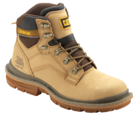 Cat Steel Toe Boot PNG