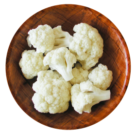 Cauliflower in Bowl PNG