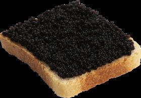 Caviar Bread PNG