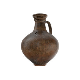 Ceramic Wine Jug PNG