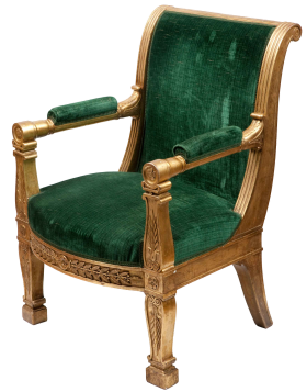 Chair Tron Green PNG