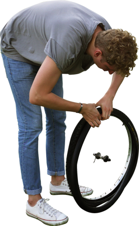 Changing Tyre PNG