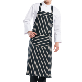 Chaud Devant Bib Apron With Front Pocket PNG
