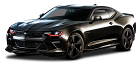 Chevrolet Camaro Black Car PNG