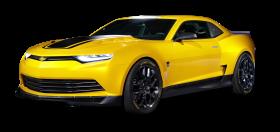 Chevrolet Camaro Concept Yellow Car PNG