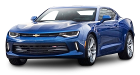 Chevrolet Camaro RS Blue Car PNG