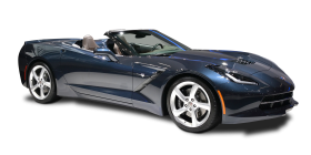 Chevrolet Corvette Stingray Convertible Car PNG