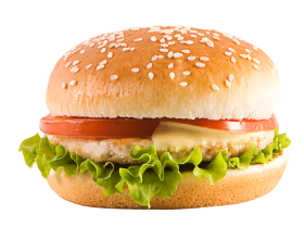 Chicken Cheeseburger PNG