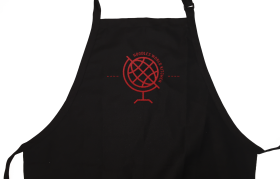 Child's Apron Small Black PNG