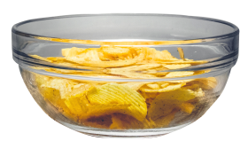 Chips Bowl PNG