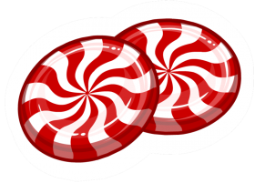 Two Lollipops Striped PNG