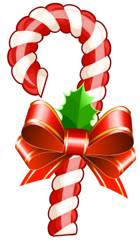 Festive Christmas Candy PNG