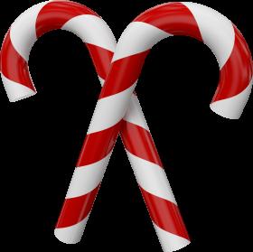 Christmas Sugar Canes  PNG