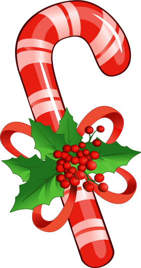Christmas Candy Cane PNG