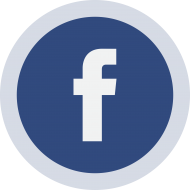 Circled Facebook Logo PNG