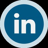 Circled Linkedin Logo PNG