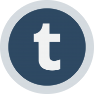 Circled Tumblr Logo PNG