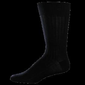 Classic Business Black Socks PNG