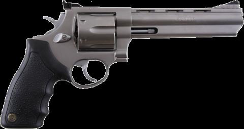 Classic Metal Handgun PNG