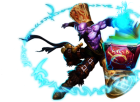 Classic Old Ryze skin LoL PNG