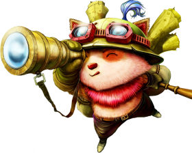 Classic Old teemo scout Splashart PNG