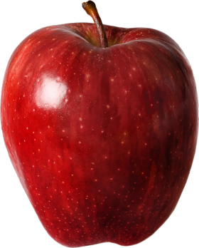 Classic Red Apple PNG