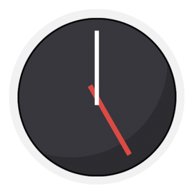 Clock Icon Android Kitkat PNG