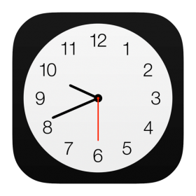 Clock Icon iOS 7 PNG