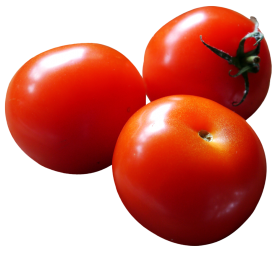 Close-up of Fresh Tomatoes PNG