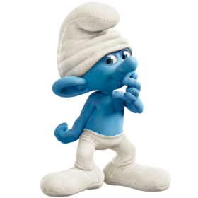 Clumsy Smurf PNG