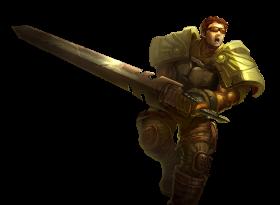 Commando Garen SKin PNG