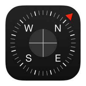 Compass Icon iOS 7 PNG