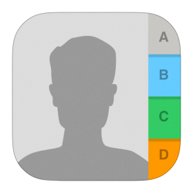 Contacts Icon iOS 7 PNG