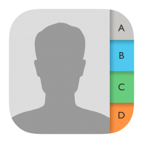Contacts Icon PNG