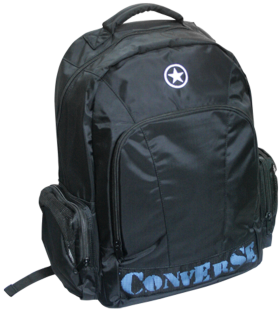 Converse Black Backpack PNG