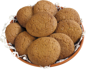 Cookies in a bow PNG