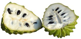 Custard Apples Sliced PNG