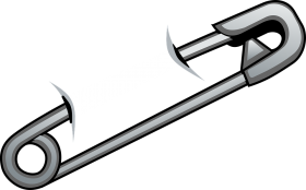 Cyber  Safety Pin PNG