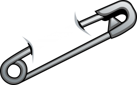 CyberScooty Safety Pin's PNG