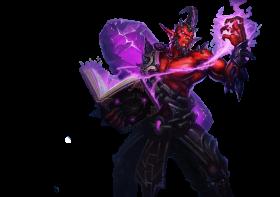 Dark Crystal Ryze skin LoL PNG