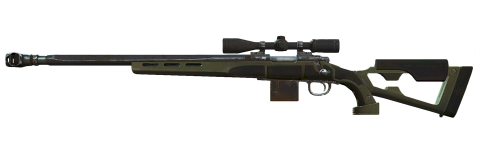 Dark green Sniper PNG
