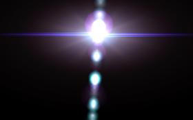 Dark Lens Flare PNG