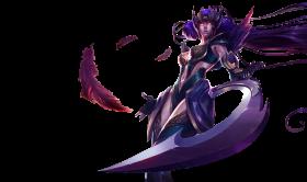 Dark Valkyria Diana Skin PNG