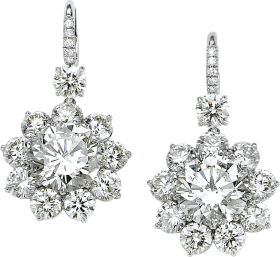 Diamond Earring PNG