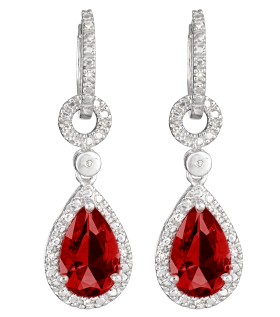 Diamond Earrings PNG