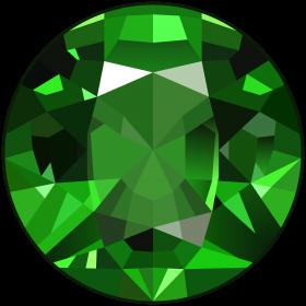 Diamond Emerald Gem PNG