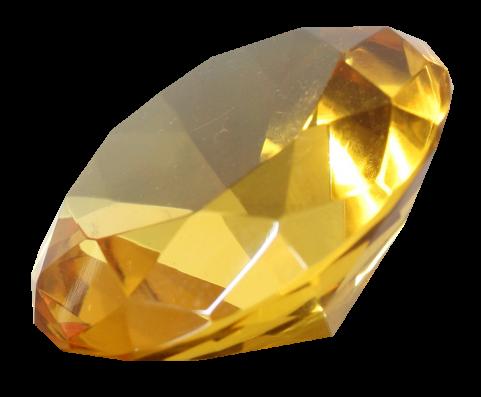 Diamond Golden PNG